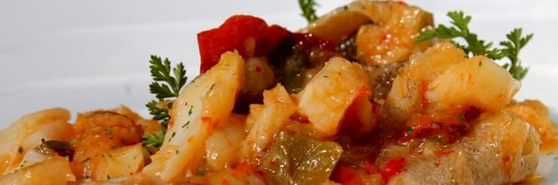 receta bacalao al horno con verduras y patatas, bacalao al horno con patatas y verduras