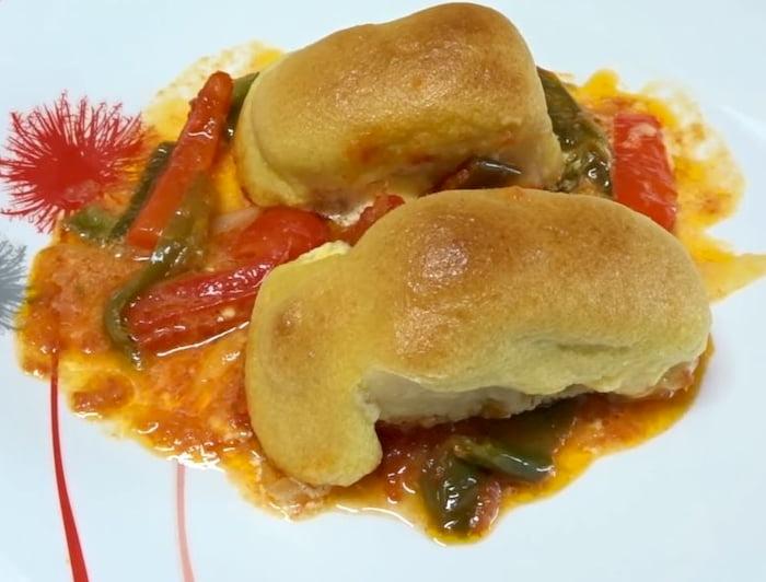 receta de bacalao al horno con muselina de ajo