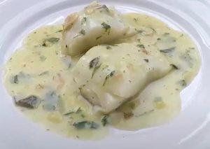 salsa verde para bacalao al horno
